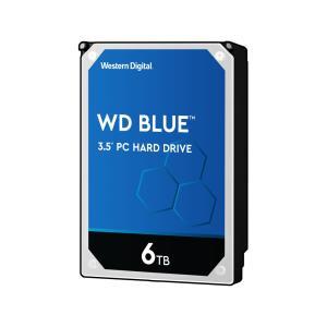 WD Blue 3.5インチ内蔵HDD 6TB SATA6Gb/s 5400rpm 256MB WD60EZAZ 123mk