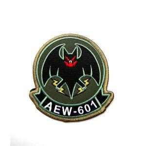 航空自衛隊 三沢基地 警戒航空隊 第601飛行隊ロゴパッチ|138etex