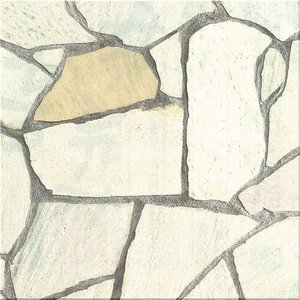 アルビノホワイト 乱形石材  1ケース(0.5m2)|148king