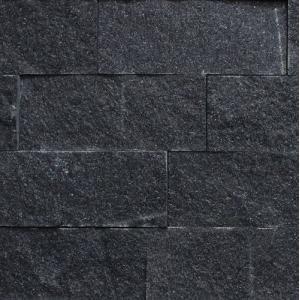 御影石 バルガスブラック  割肌 乱尺 1ケース(0.3m2入り)|148king