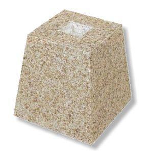 束石(サビ) 御影石 本磨き 4.5寸 1.5号|148king
