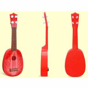 フルーツギター ストロベリータイプ(ウクレレ) 1本