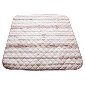 洗えるキルトラグ ベージュ 185×235|171online-shop