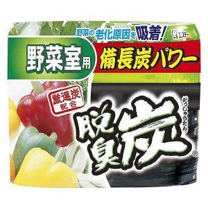 エステー 脱臭炭 野菜室用 脱臭剤(炭ゼリー 140g エチレン吸着剤 2g) 171online-shop