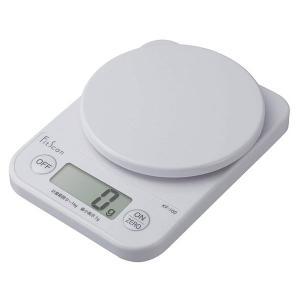 [タニタ]デジタルクッキングスケール ホワイト (KF-100)の商品画像|ナビ