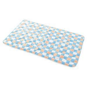 抗菌・消臭接触冷感マット ブルー L 100×60cm PPオリジナル 171online-shop