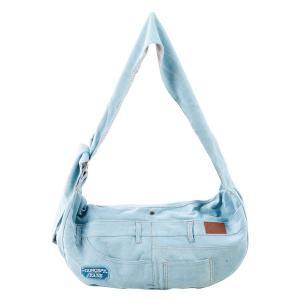 【特価】 デニムキャリーバッグ ライトブルー|171online-shop