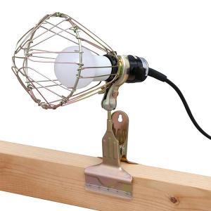 アイリスオーヤマ LED ワークライト広配光 屋内用 クリップ 485lm ILW-45GC3の商品画像|ナビ