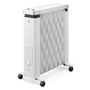 アイリスオーヤマ ウェーブ型オイルヒーター メカ式 タオルハンガー付 ホワイト IWHH-1212D-W 暖房器具 171online-shop