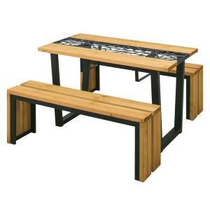 メーカー直送 リバティ ピクニックテーブルセット  タカショー|171online-shop