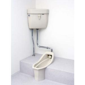 ロンシール トイレ DX-260 FP /N2 和式便器 + 隅付型タンク(手洗無) + 凍結防止用ヒーター付 + 水抜きタイプ洗浄ノズル付 仕様変更可|1885