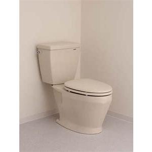 ロンシール トイレ DX - 570 P 便器 + タンク(手洗無) + 普通便座 仕様変更可|1885