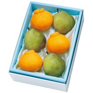 お歳暮 御歳暮 ギフト 人気 果物 詰め合わせ フルーツ 2017 Gift 贈り物 デコポン・ラ フランス詰合せ|1894ginza-sembikiya