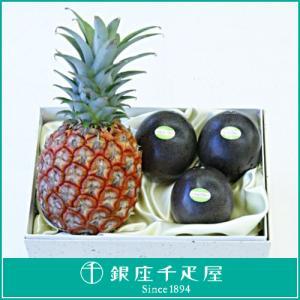 フルーツ 詰め合わせ 内祝い 銀座千疋屋 ギフト 国産パイン・パッションフルーツ|1894ginza-sembikiya