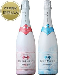 千疋屋 御歳暮 お歳暮 ワイン wine 赤ワイン セット ギフト 結婚祝い 送料無料 Giftt ドリンク・オン・アイス2本セット|1894ginza-sembikiya