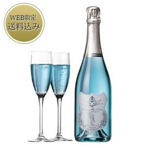 ホワイトデー 2018 ワイン ギフト セット 結婚祝い お取り寄せ 銀座千疋屋 Gift ブラン・ド・ブルー(銀座マロンプリン付き)|1894ginza-sembikiya