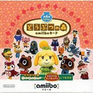 【新品】3DS用 どうぶつの森amiiboカード 第4弾(1BOX)(ネコポス便配送不可)(2016年3月24日発売)|193