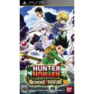 【新品】PSP ハンター×ハンター ワンダーアドベンチャー(初回封入特典は有効期限が切れています) 193