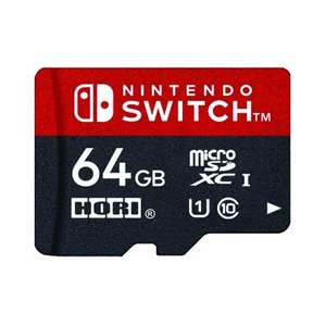 Switch microSDカード 64GB for Nintendo Switch(マイクロSDカ...