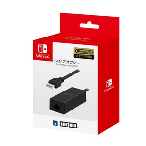 【新品】Switch LANアダプター for Nintendo Switch(ネコポス便・メール便配送不可)|193