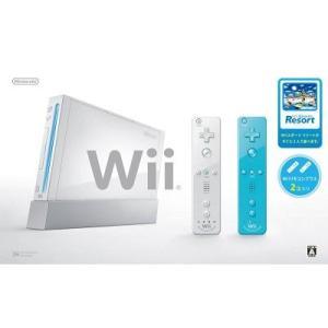 【新品】Wii本体シロ Wiiスポーツリゾート同梱(メール便配送不可) 193