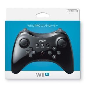 【新品】WiiU PROコントローラー クロ(ネコポス便・メール便配送不可)|193