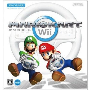 【新品】Wii マリオカートWii(Wiiハンドル同梱)(メール便配送不可)|193