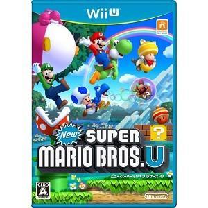 WiiU NewスーパーマリオブラザーズU【新品】