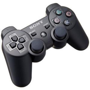 【新品】PS3 デュアルショック3 ブラック(ネコポス便・メール便配送不可)|193