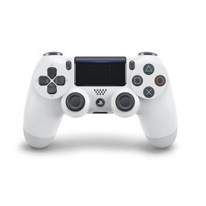 【新品】PS4 デュアルショック4 グレイシャーホワイト(CUH−ZCT2J13)(ネコポス便不可)(2017年2月23日発売)|193