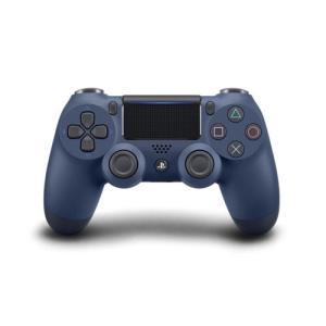 【新品】PS4 デュアルショック4 ミッドナイト・ブルー(CUH−ZCT2J22)(ネコポス便不可)(2017年11月3日発売)|193