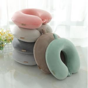 商品説明: ◆セット内容:U型枕 ◆生産地:中国 ◆素材:記憶綿(ウレタン) ◆カラー:ピンク、グレ...