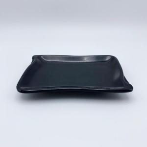 波型角皿(中) 黒|1956direct