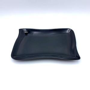 波型小皿(大) 黒|1956direct