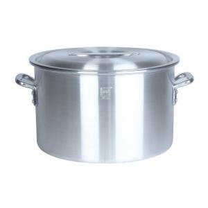 業務用アルミ半寸胴鍋(目盛付) 42cm 38.0L|1956direct