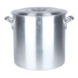 業務用アルミ寸胴鍋(目盛付) 45cm 70.0L|1956direct