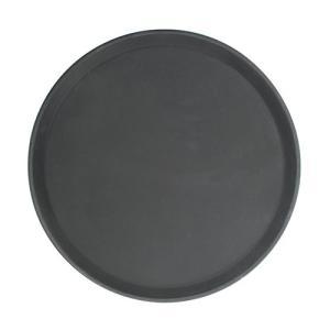 丸型ノンスリップトレー 11インチ ブラック|1956direct