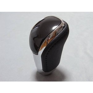 トヨタ純正 クラウン アスリート AWS210 AWS211 GRS210 GRS211 GRS214 ブラックレザー&ブラックウッド シフトノブ