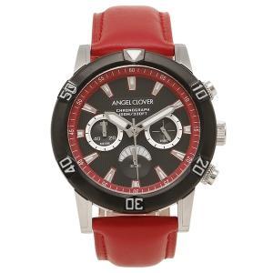 ANGEL CLOVER メンズ腕時計 ウォッチ エンジェルクローバー BR43BBK-RE レッド|1andone