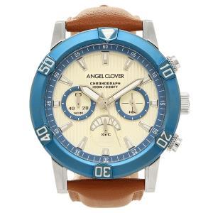 ANGEL CLOVER 腕時計 エンジェルクローバー BR43BUIVLB ホワイト ブルー ブラウン|1andone