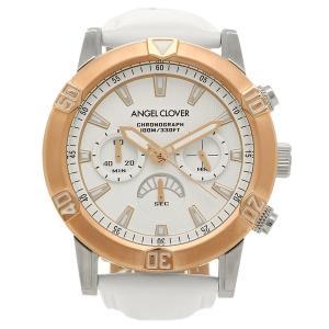 ANGEL CLOVER 腕時計 エンジェルクローバー BR43PWHWH ホワイト ローズゴールド ホワイト|1andone