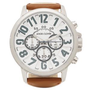 エンジェルクローバー 腕時計 ANGEL CLOVER BU44SWH-BR ホワイト シルバー ブラウン|1andone