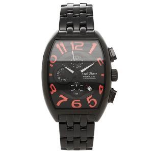 エンジェルクローバー 時計 ANGEL CLOVER 腕時計 メンズ DP38BBP ダブルプレイ ブラック/ピンク ステンレス BKPVD|1andone