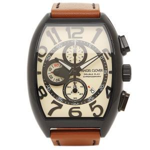 エンジェルクローバー 腕時計 ANGEL CLOVER DP38BSB-LBN ホワイト ブラウン|1andone