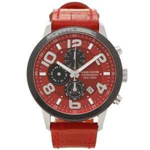 エンジェルクローバー 腕時計 メンズ ANGEL CLOVER LU44SRE RE レッド シルバー|1andone