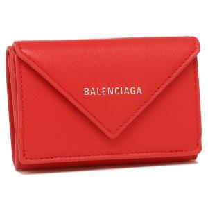 バレンシアガ 折財布 レディース BALENCIAGA 391446 DLQ0N 6512 レッド|1andone