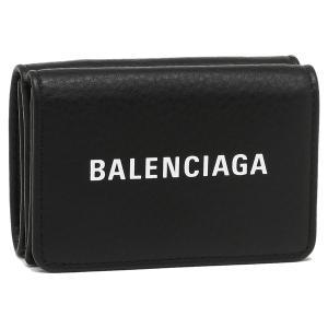 バレンシアガ 折財布 メンズ/レディース BALENCIAGA 551921 DLQ4N 1000 ブラック|1andone