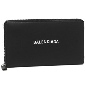 バレンシアガ 長財布 レディース BALENCIAGA 551935 DLQ4N 1000 ブラック|1andone