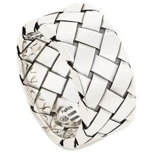 ボッテガヴェネタ リング アクセサリー メンズ BOTTEGA VENETA 200742 V5060 8117 イントレチャートデザイン 指輪 アンティークシルバー|1andone