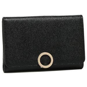 ブルガリ 折財布 レディース BVLGARI 280555 ブラック|1andone